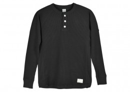 SD Waffle Thermal LS Henley Neck