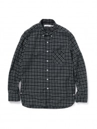 Dweller B.D Shirt Cotton Tartan Plaid