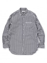 Feller Long Shirt Cotton Broad Gingham Check