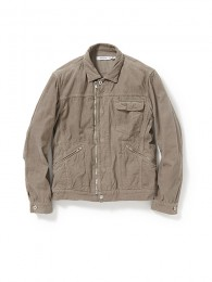 Worker Jacket Cotton Cord OD