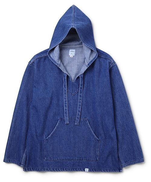 "BEDWIN - L/S Baja Pullover Hooded Shirt  ""GUS"""
