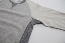 "BEDWIN - L/S Freedom C-Neck Sweat ""LOU"""