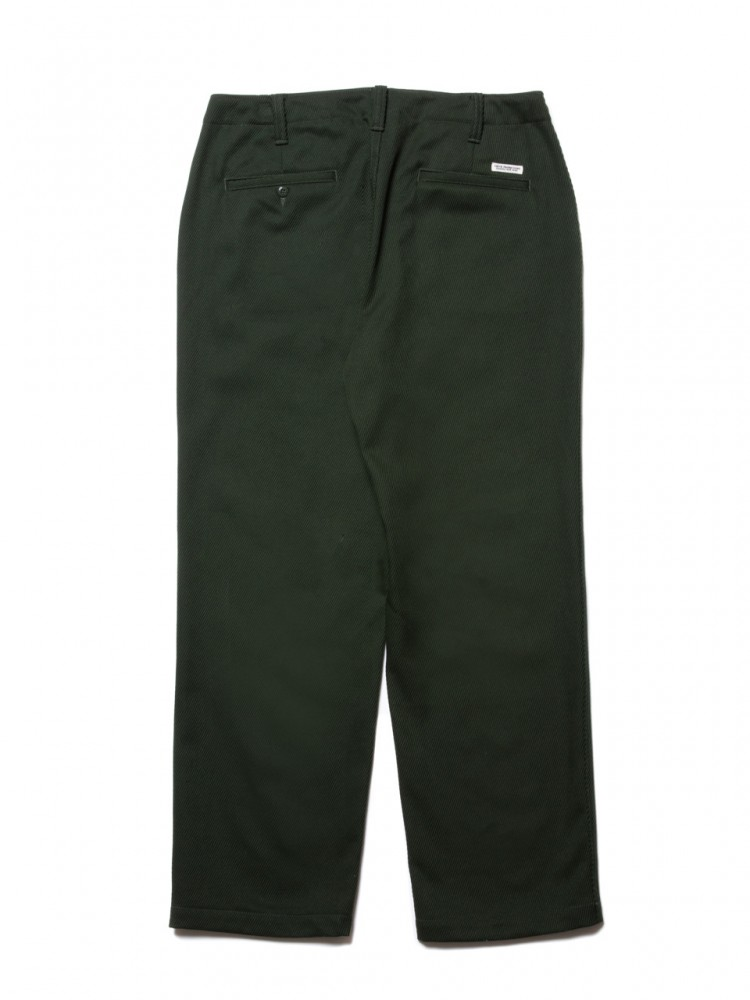 COOTIE - Cotton Kersey Work Trousers