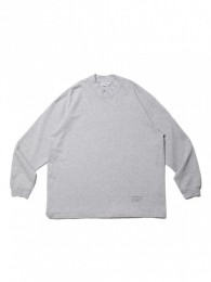 Heavy Cotton Mock Neck L/S tee