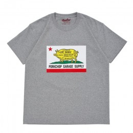Pork CALIF TEE / GRAY