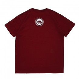 PORKCHOP GARAGE SUPPLY - Brush TEE / BURGUNDY