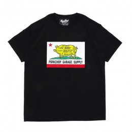Pork CALIF TEE / BLACK