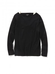 Dweller Boat Neck LS Cotton Jersey