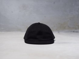 Sheep Suede Cap (Black)