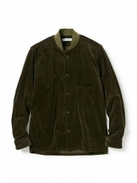 nonnative - Trainer Shirt C/R Velvet