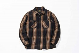 Cotton Check Flannel Shirt
