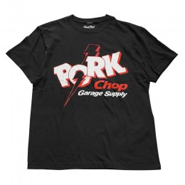 Jolt Pork - FRONT TEE / BLACK
