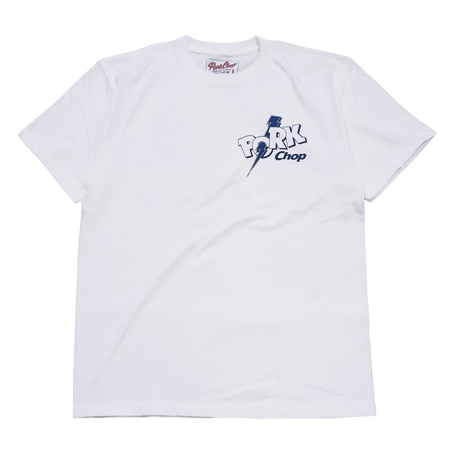 PORKCHOP GARAGE SUPPLY - Jolt Pork - BACK TEE / WHITE