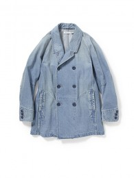 "Sailor Half Coat Cotton13ozSelvedgeDenimVW ""DAMON"""