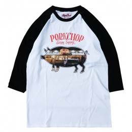Shop Photo Raglan TEE - BLACK