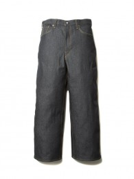 5 Pocket Rigid Wide Denim
