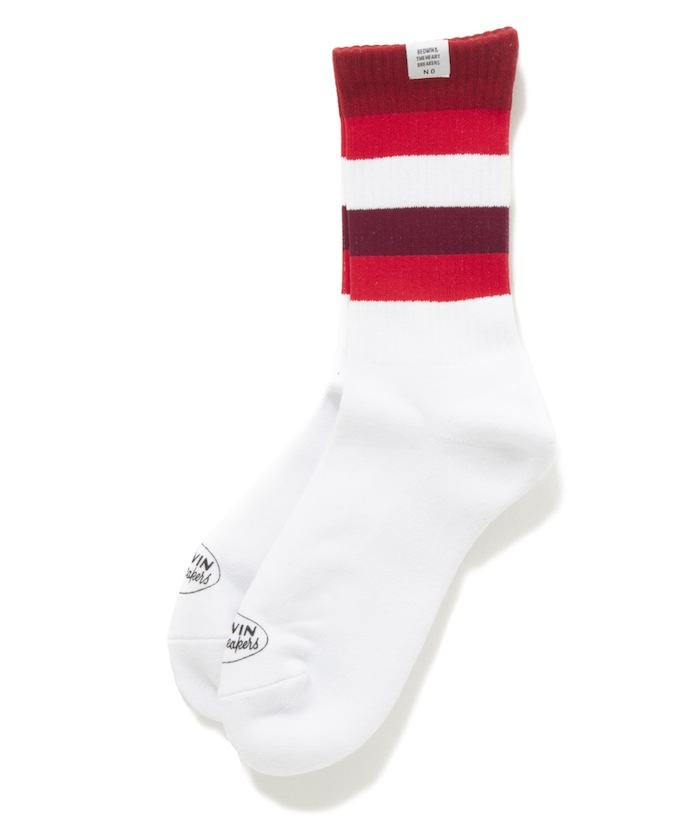 "BEDWIN - 2pcs Pack Line Socks ""LARRY"""