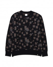 "BEDWIN - C-Neck Jacquard Knit Sweater ""WRIGHT"""