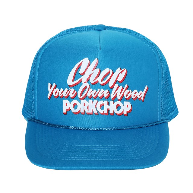 PORKCHOP GARAGE SUPPLY - Chop Your Own Wood CAP / TURQUOISE BLUE