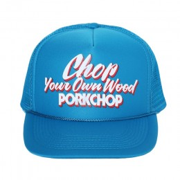 Chop Your Own Wood CAP / TURQUOISE BLUE