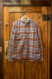 Shawl Collar SHT GRAY CHECK