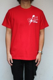 PORKCHOP GARAGE SUPPLY - Jolt Pork - BACK TEE / RED