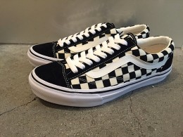 VANS 50th EXCLUSIVE MODEL OLD School - Checker -