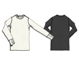 GLAD HAND & Co. - Waffle L/S T-Shirts