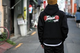 "BEDWIN - L/S Pullover Hooded Sweat ""KLUM"""