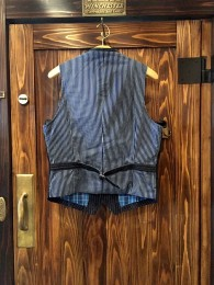 The Stylist Japan - Jillet Denim Stripe Vest