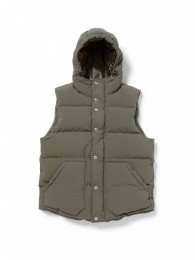 Hiker Down Vest Poly Weather Cubetex
