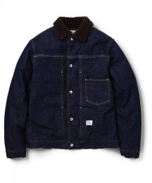 "L/S Denim Boa Jacket OW ""GOODMAN"""