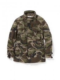 TrooperJKT CottonArmyClothwith WINDSTOPPER 2L Camo