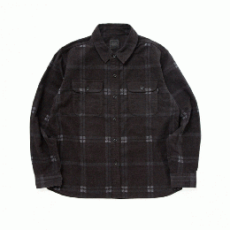 Print Flannel Check Shirt