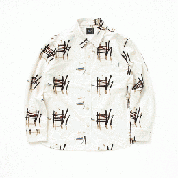 Atomic Print Flannel Shirt