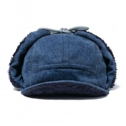 Japanese Denim 13.5oz Boa Cap