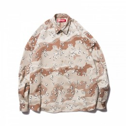 O.S. L/S Shirt Camouflage / Chocolate Chip