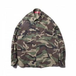 O.S. L/S Shirt Camouflage / Woodland