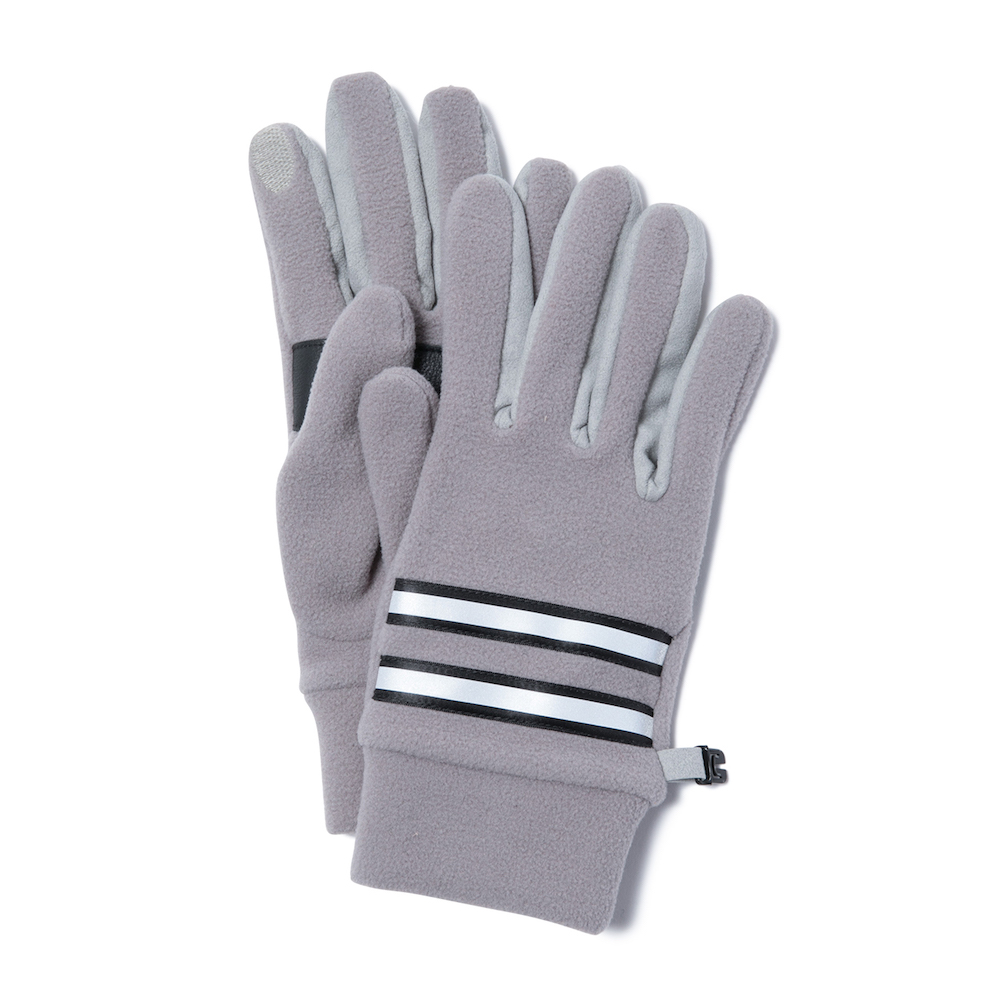 hobo - Fleece Gloves with Cow Leather