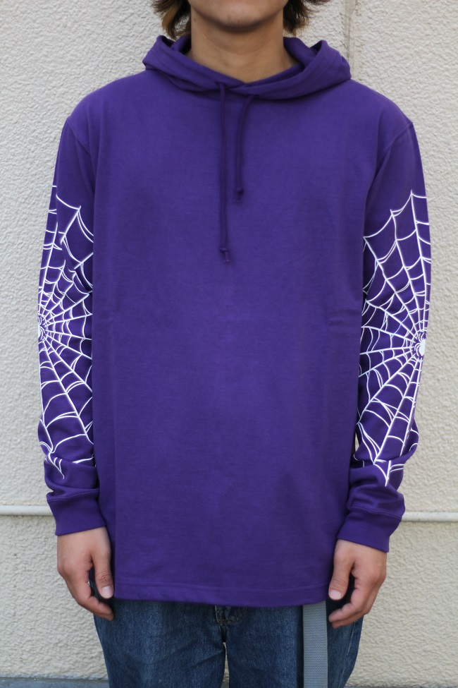 COOTIE - Hooded Print L/S Tee (I'M THROUGH BEING COOL)