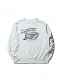 Print Crewneck L/S Sweatshirt (HEAVENLY HIGHWAY)