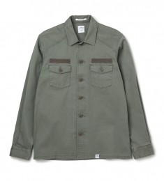 "L/S Military Shirt ""CLIFF"""