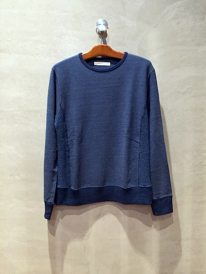 IMPORT - Indigo Crew Neck Sweat