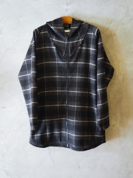Master Full Zip Gown W/P/N/A Beaver Overplaid