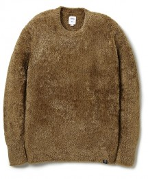 "C-Neck Knit Sweater ""WRIGHT"""