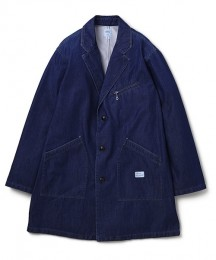 "Denim Shop Coat FD ""BASQUIAT"""