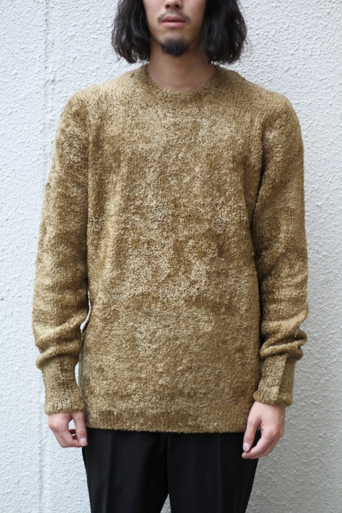 "BEDWIN - C-Neck Knit Sweater ""WRIGHT"""