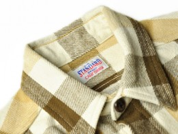 STANDARD CALIFORNIA - SD Heavy Flannel Check Shirt