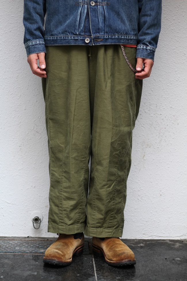 COOTIE - Back Satin Loose Fit Pants