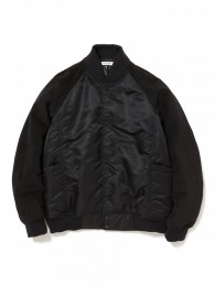 Educator Puff Blouson Nylon Twill with ULTRASUEDE